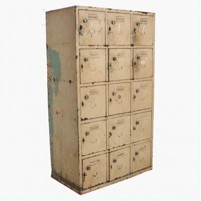 Antique Deposit Locker