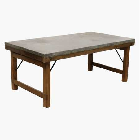Zinc Top Coffee Table Side Tables & Coffee Tables Smithers of Stamford £ 340.00 Store UK, US, EU, AE,BE,CA,DK,FR,DE,IE,IT,MT,...