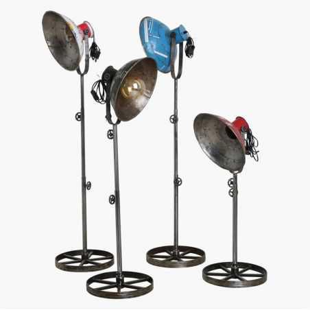 Scrapmetal Tripod Floor Lamp Vintage Lighting   £ 360.00 Store UK, US, EU, AE,BE,CA,DK,FR,DE,IE,IT,MT,NL,NO,ES,SE