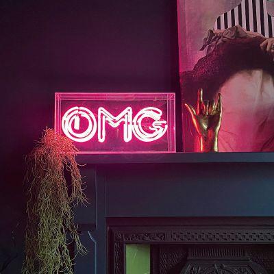 OMG Neon Sign