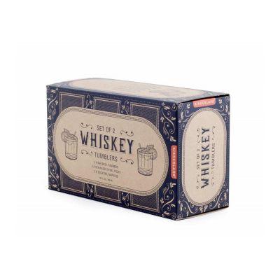 Whiskey Tumbler Glass Set