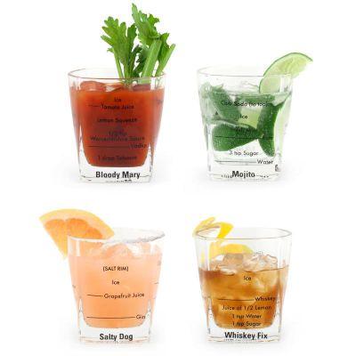 Bartending Glass Set of 4