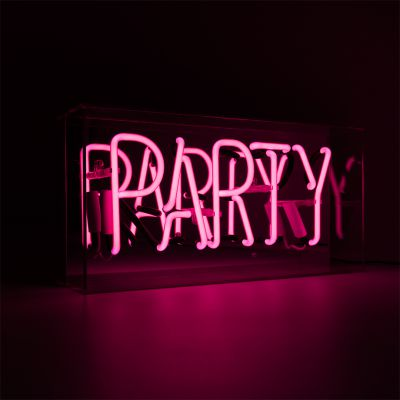 Pink Party Neon Sign