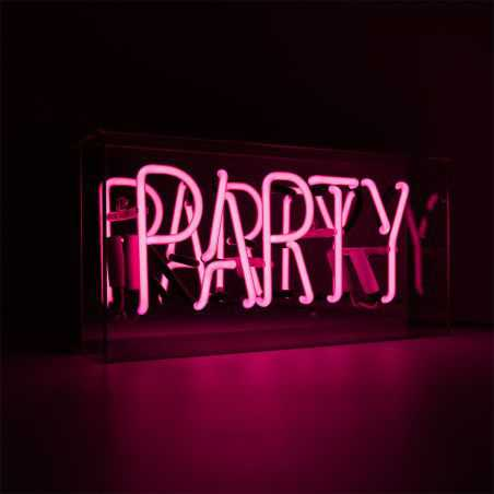 Pink Party Neon Sign Neon Signs Seletti £ 99.00 Store UK, US, EU, AE,BE,CA,DK,FR,DE,IE,IT,MT,NL,NO,ES,SE