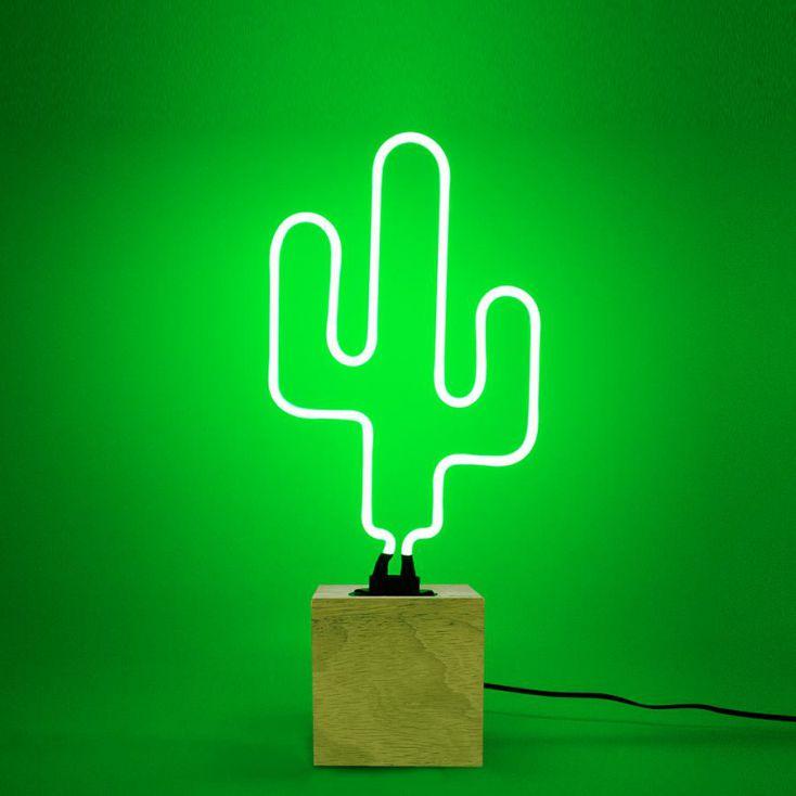 Cactus Neon Light Vintage Lighting Seletti £ 50.00 Store UK, US, EU, AE,BE,CA,DK,FR,DE,IE,IT,MT,NL,NO,ES,SE