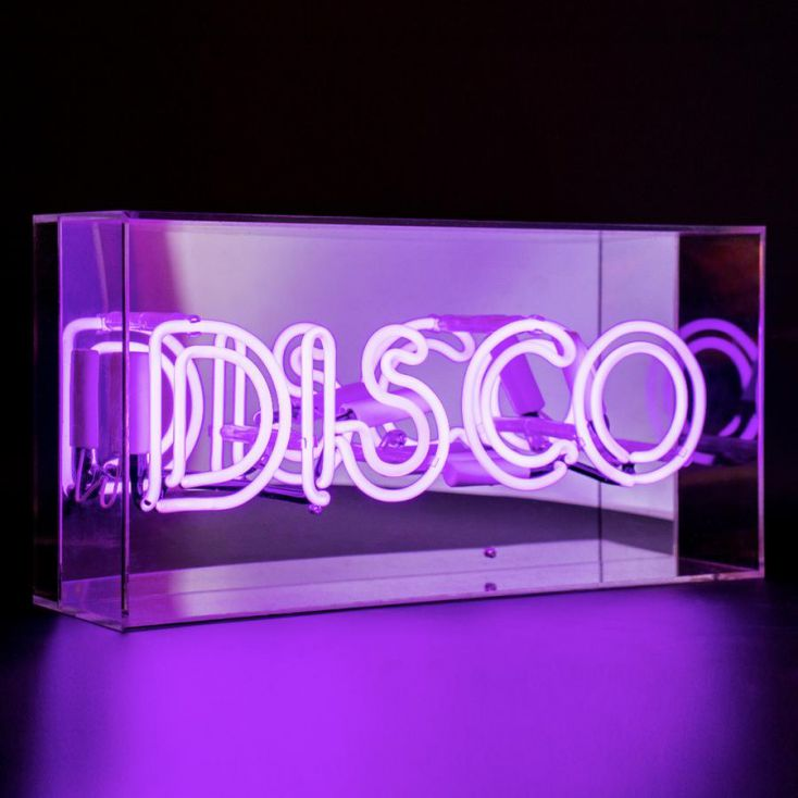 Disco Neon Light Neon Signs Smithers of Stamford £ 94.00 Store UK, US, EU, AE,BE,CA,DK,FR,DE,IE,IT,MT,NL,NO,ES,SE