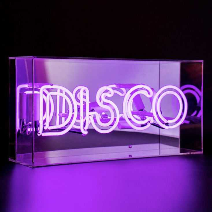 Disco Neon Light Neon Signs Smithers of Stamford £109.00 Store UK, US, EU, AE,BE,CA,DK,FR,DE,IE,IT,MT,NL,NO,ES,SE