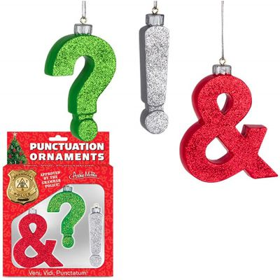 Punctuation Xmas Tree Decoration