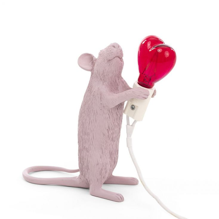 Valentine Mouse lamp Seletti Seletti £ 85.00 Store UK, US, EU, AE,BE,CA,DK,FR,DE,IE,IT,MT,NL,NO,ES,SE