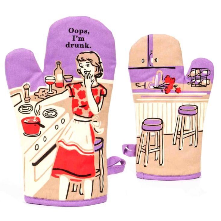 Oops, I'm Drunk Oven Mitt Kitchen & Dining Room £ 12.00 Store UK, US, EU, AE,BE,CA,DK,FR,DE,IE,IT,MT,NL,NO,ES,SE