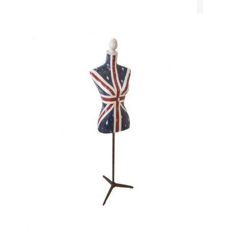 Union Jack Flag Mannequin Retro Ornaments Smithers of Stamford £250.00 Store UK, US, EU, AE,BE,CA,DK,FR,DE,IE,IT,MT,NL,NO,ES,SE