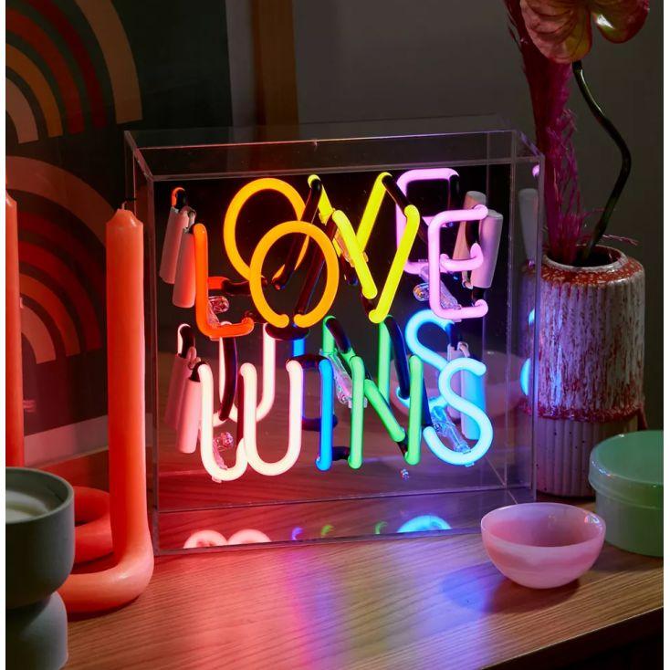 Love Wins Neon Sign Vintage Lighting Seletti £ 99.00 Store UK, US, EU, AE,BE,CA,DK,FR,DE,IE,IT,MT,NL,NO,ES,SE
