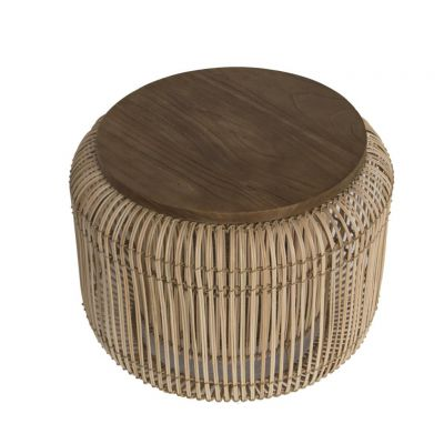 Rattan Pot Coffee Table