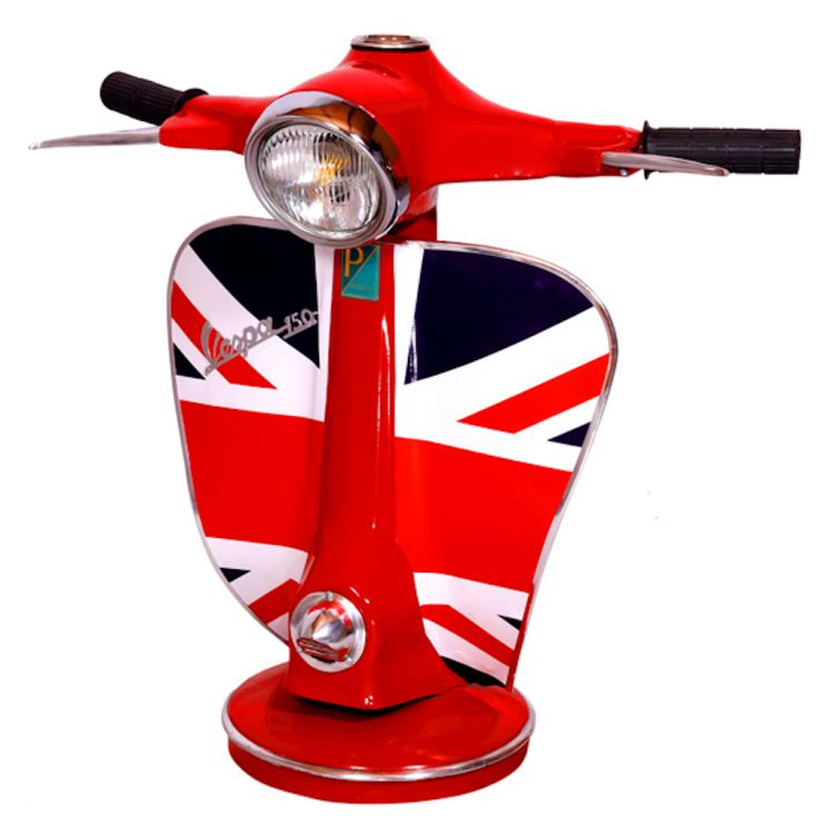 Union Jack Vespa Lamp Retro Gifts Smithers of Stamford £ 295.00 Store UK, US, EU, AE,BE,CA,DK,FR,DE,IE,IT,MT,NL,NO,ES,SE