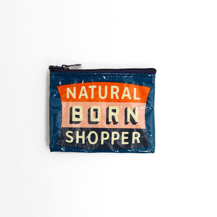 Natural Born Shopper Purse Retro Gifts £ 7.00 Store UK, US, EU, AE,BE,CA,DK,FR,DE,IE,IT,MT,NL,NO,ES,SE