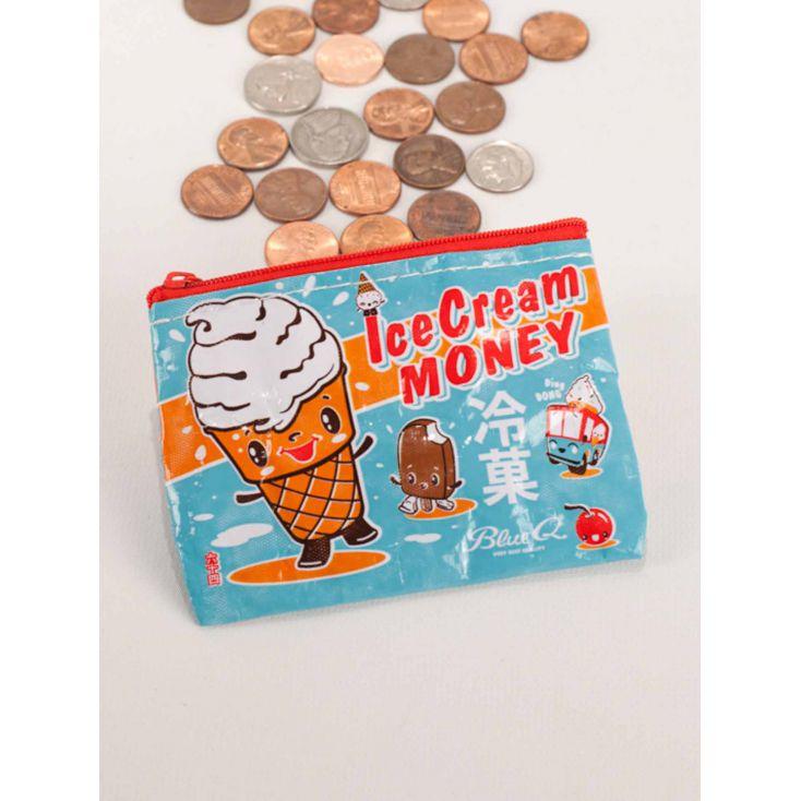 Ice Cream Money Purse Personal Accessories £ 7.00 Store UK, US, EU, AE,BE,CA,DK,FR,DE,IE,IT,MT,NL,NO,ES,SE