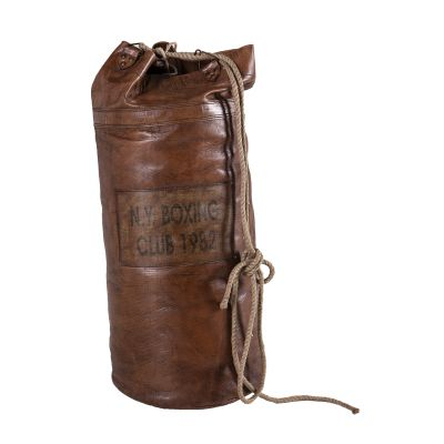 Brown Leather Punch Bag