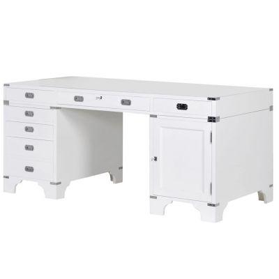 White Clinical Office Desk