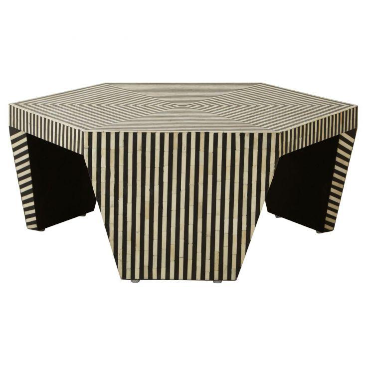 Hexagon Monochrome Coffee Table Retro Furniture £ 1,650.00 Store UK, US, EU, AE,BE,CA,DK,FR,DE,IE,IT,MT,NL,NO,ES,SE