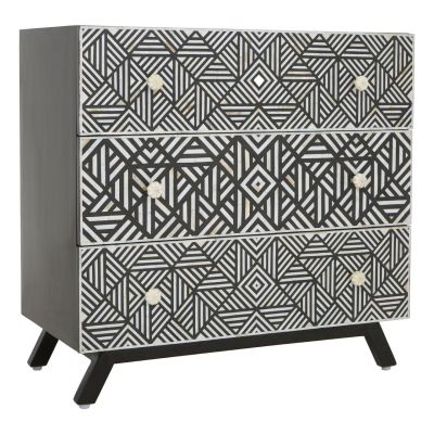 Monochrome Chest of Drawers