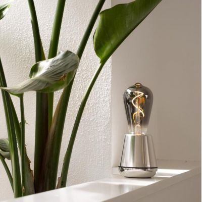 Silver Humble Table Lamp