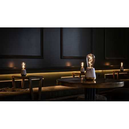 Marble Humble Table Lamp Retro Lighting  Smithers of Stamford £ 139.00 Store UK, US, EU, AE,BE,CA,DK,FR,DE,IE,IT,MT,NL,NO,ES,SE