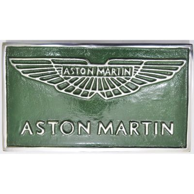Aston Martin Plaque
