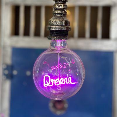 Neon Pendant Light Bulb