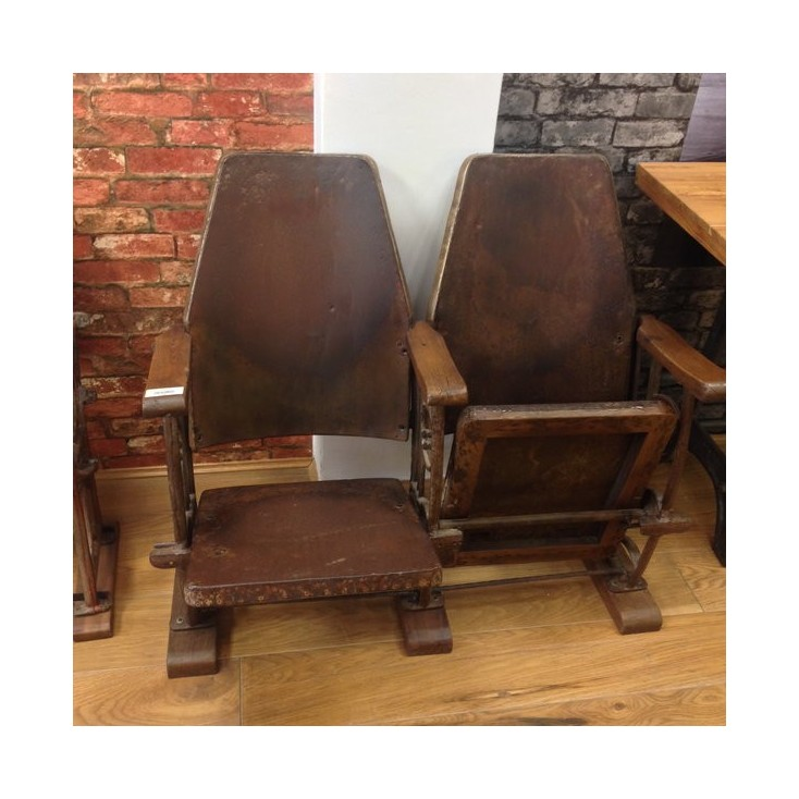 Vintage Twin Theater Seat Home Smithers of Stamford £ 680.00 Store UK, US, EU