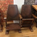 Vintage Twin Theater Seat