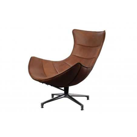 Costello Tan Leather Accent Chair Retro Furniture Smithers of Stamford £ 1,350.00 Store UK, US, EU, AE,BE,CA,DK,FR,DE,IE,IT,M...