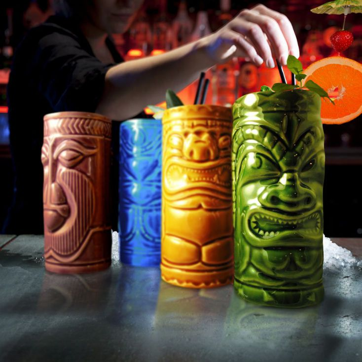 TIKI Mug Set Retro Gifts £ 25.00 Store UK, US, EU, AE,BE,CA,DK,FR,DE,IE,IT,MT,NL,NO,ES,SE