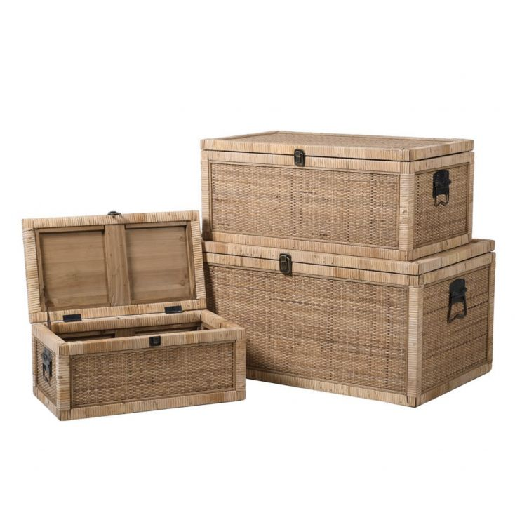 Wicker Storage Chest Trunks Designer Furniture Smithers of Stamford £ 409.00 Store UK, US, EU, AE,BE,CA,DK,FR,DE,IE,IT,MT,NL,...