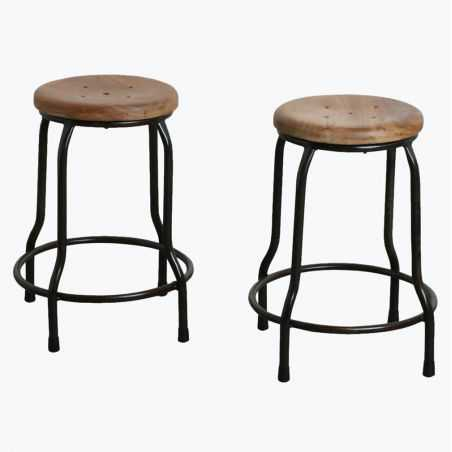 Counter Height 50 cm Science Lab Stool Industrial Furniture Smithers of Stamford £ 110.00 Store UK, US, EU, AE,BE,CA,DK,FR,DE...