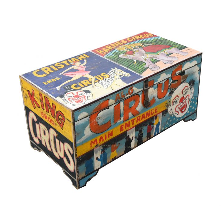 Carnival Clown Storage Trunk Trunk Chests Smithers of Stamford £ 320.00 Store UK, US, EU, AE,BE,CA,DK,FR,DE,IE,IT,MT,NL,NO,ES,SE