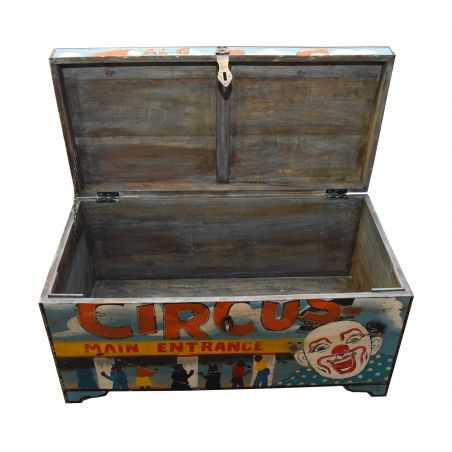 Carnival Clown Storage Trunk Trunk Chests Smithers of Stamford £ 362.00 Store UK, US, EU, AE,BE,CA,DK,FR,DE,IE,IT,MT,NL,NO,ES,SE