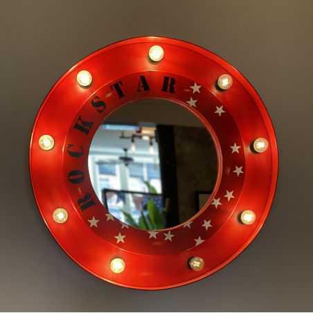 Porthole Rockstar Bulb Mirror Retro Lighting  Smithers of Stamford £ 300.00 Store UK, US, EU, AE,BE,CA,DK,FR,DE,IE,IT,MT,NL,N...