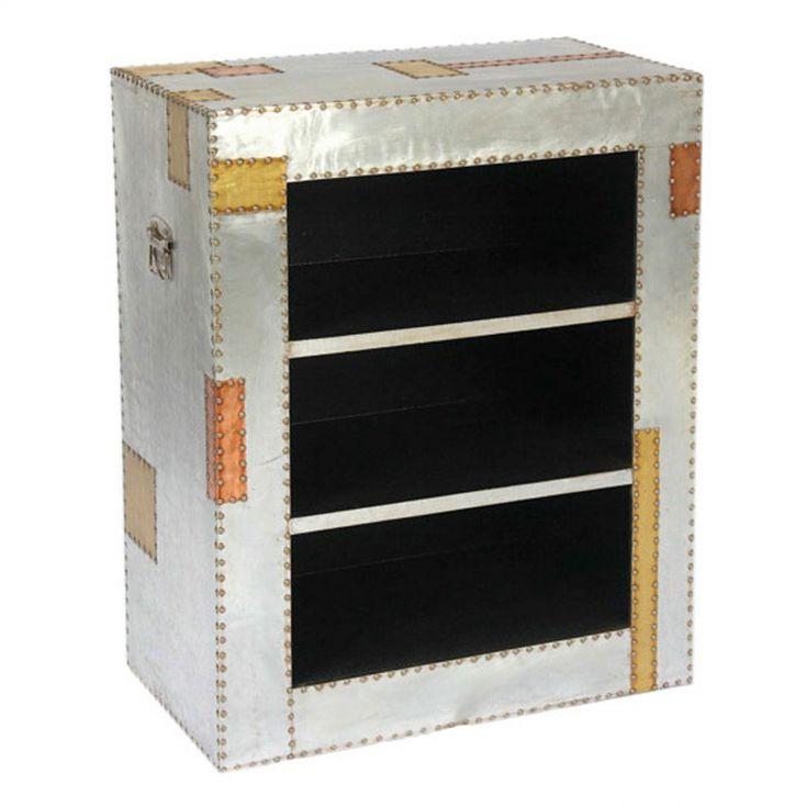 Dakota Industrial Bookcase Aviation Furniture Smithers of Stamford £ 290.00 Store UK, US, EU, AE,BE,CA,DK,FR,DE,IE,IT,MT,NL,N...