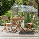 Teak Outdoor Bistro Table
