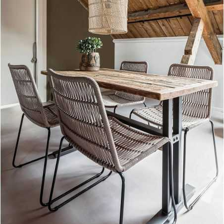 Natural Rope Dining Chair Kitchen & Dining Room  £ 198.00 Store UK, US, EU, AE,BE,CA,DK,FR,DE,IE,IT,MT,NL,NO,ES,SE