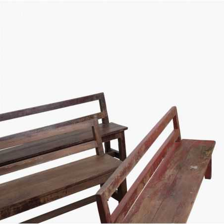 Wooden Antique School Bench Seat Vintage Furniture Smithers of Stamford £ 299.00 Store UK, US, EU, AE,BE,CA,DK,FR,DE,IE,IT,MT...