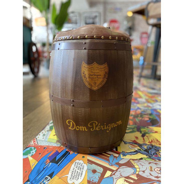 Dom Perignon Barrel Stool Man Cave Furniture & Decor £ 160.00 Store UK, US, EU, AE,BE,CA,DK,FR,DE,IE,IT,MT,NL,NO,ES,SE