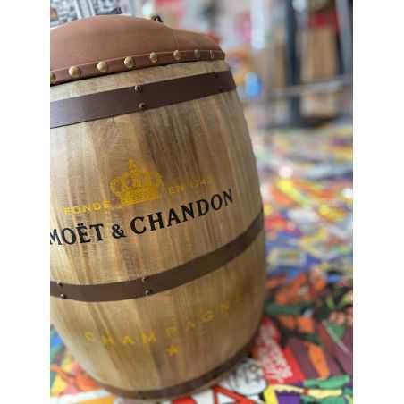 Moet et Chandon Barrel Stool Man Cave Furniture & Decor  £200.00 Store UK, US, EU, AE,BE,CA,DK,FR,DE,IE,IT,MT,NL,NO,ES,SE
