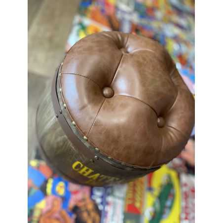 Chateauneuf du Pape Barrel Stool Man Cave Furniture & Decor  £200.00 Store UK, US, EU, AE,BE,CA,DK,FR,DE,IE,IT,MT,NL,NO,ES,SE