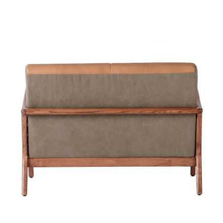 Tan Leather 2 Seater Sofa Designer Furniture Smithers of Stamford £ 1,350.00 Store UK, US, EU, AE,BE,CA,DK,FR,DE,IE,IT,MT,NL,...