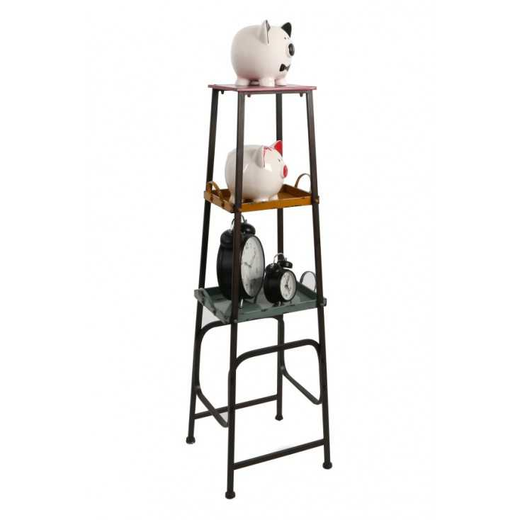Quirky Industrial Shelf Unit Smithers Archives Smithers of Stamford £ 178.00 Store UK, US, EU, AE,BE,CA,DK,FR,DE,IE,IT,MT,NL,...