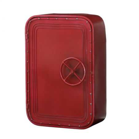 New york Loft Red Wall Cabinet Home Smithers of Stamford £ 169.00 Store UK, US, EU, AE,BE,CA,DK,FR,DE,IE,IT,MT,NL,NO,ES,SE
