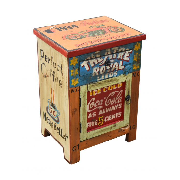 Coca Cola & Royal Theatre Cabinet Storage Furniture Smithers of Stamford £ 225.00 Store UK, US, EU, AE,BE,CA,DK,FR,DE,IE,IT,M...