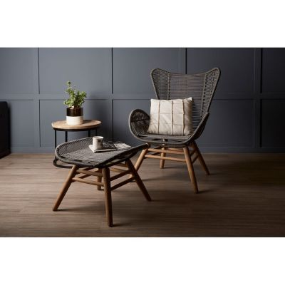 Stavanger Lounge Chair & Footstool