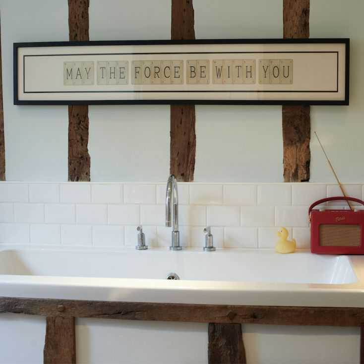 May The Force be With You Sign Retro Gifts Smithers of Stamford £195.00 Store UK, US, EU, AE,BE,CA,DK,FR,DE,IE,IT,MT,NL,NO,ES,SE